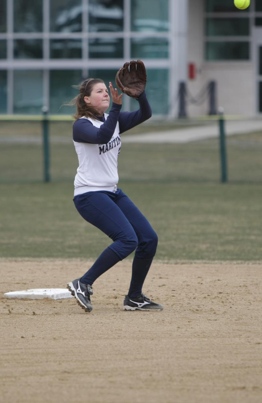 Beaulieu, Weir Rap Out Two Hits Each As Softball Drops MASCAC Doubleheader Decision To Framingham State
