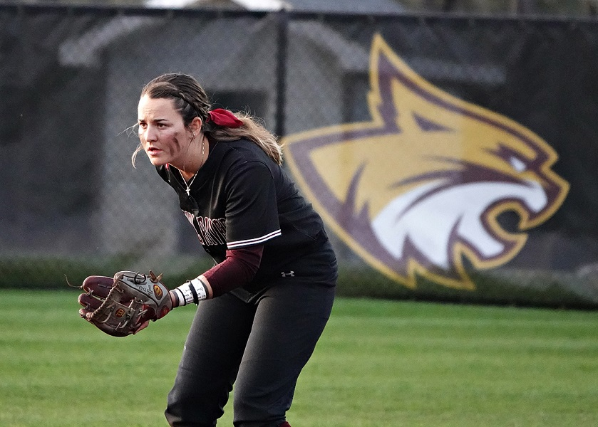 Brooke Fagan had three hits and three RBIs Wednesday to help the Lady Wildcats knock off No. 3 Jones college 8-2. (KRISTI HARRIS/PRCCATHLETICS)