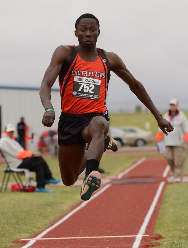 Edoki sets top collegiate mark as South Plains impresses in opening outdoor meet in Abilene