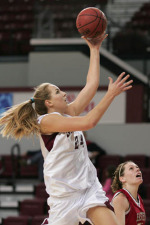 Women's Hoops Picks Up First WCC Win