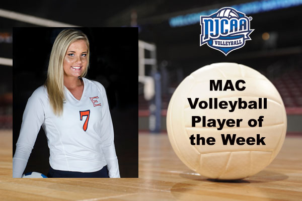 MAC Volleyball Player of the Week (Sept. 24-30)