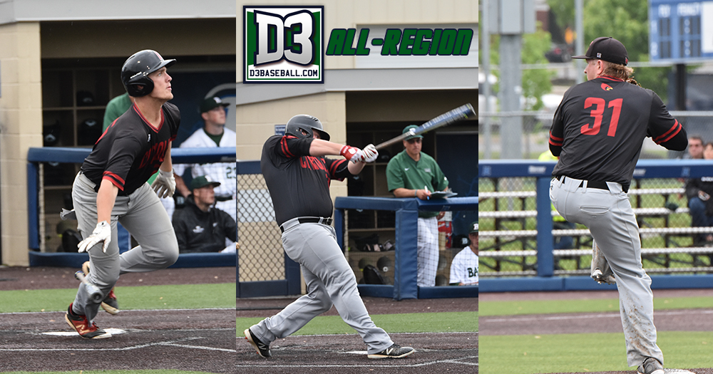 Cotter, Crist & Mierzwa Make D3baseball.com All-Region Teams