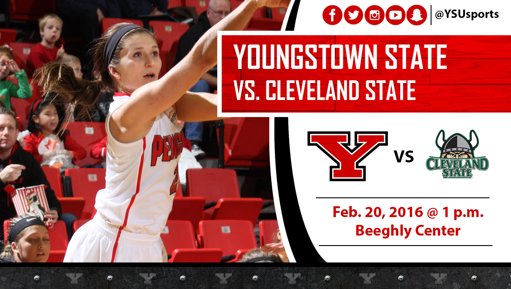 Alison Smolinski and the Penguins begin a three-game home stand against Cleveland State this Saturday.