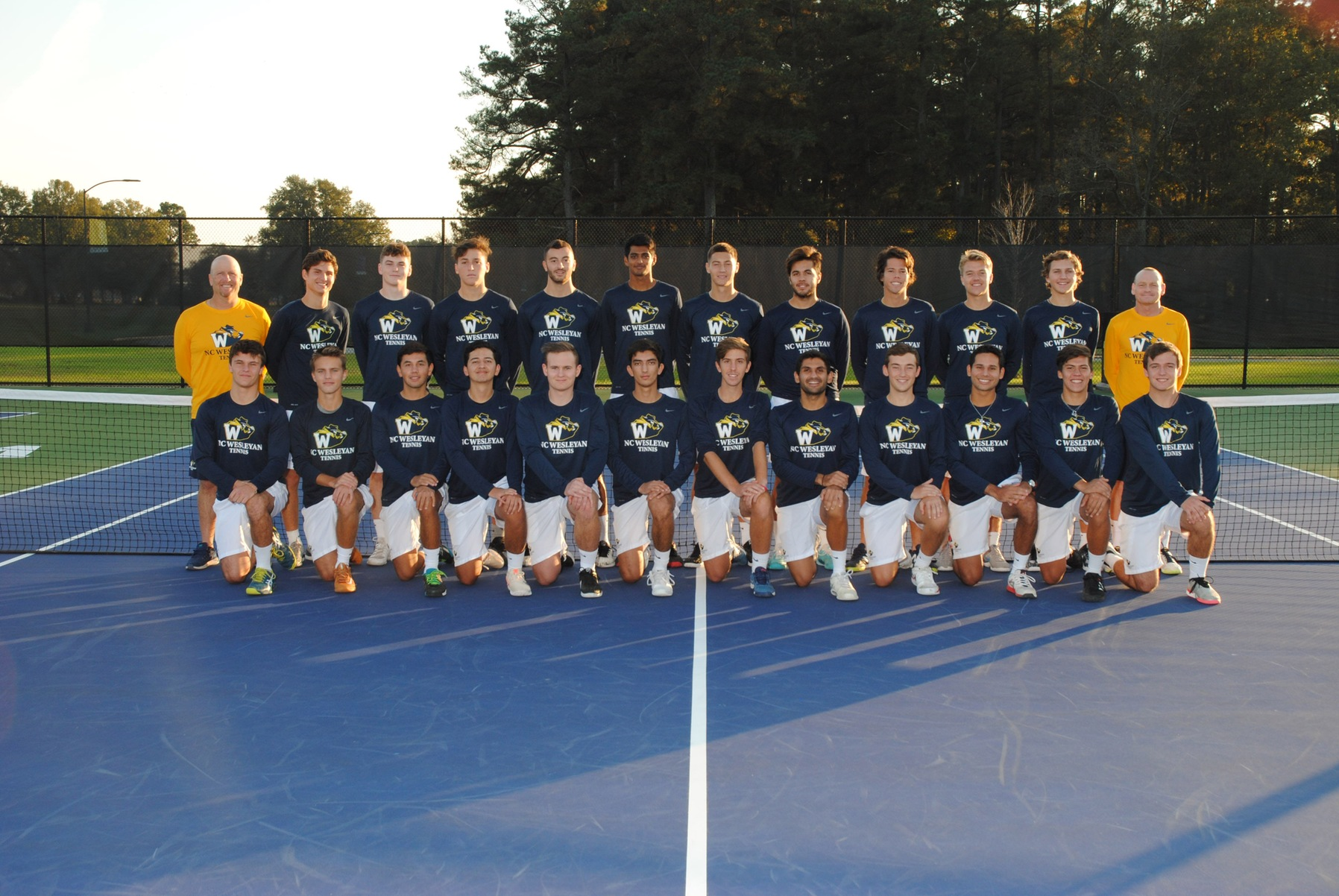 Men's Tennis Clinches 11th Straight Conference Title