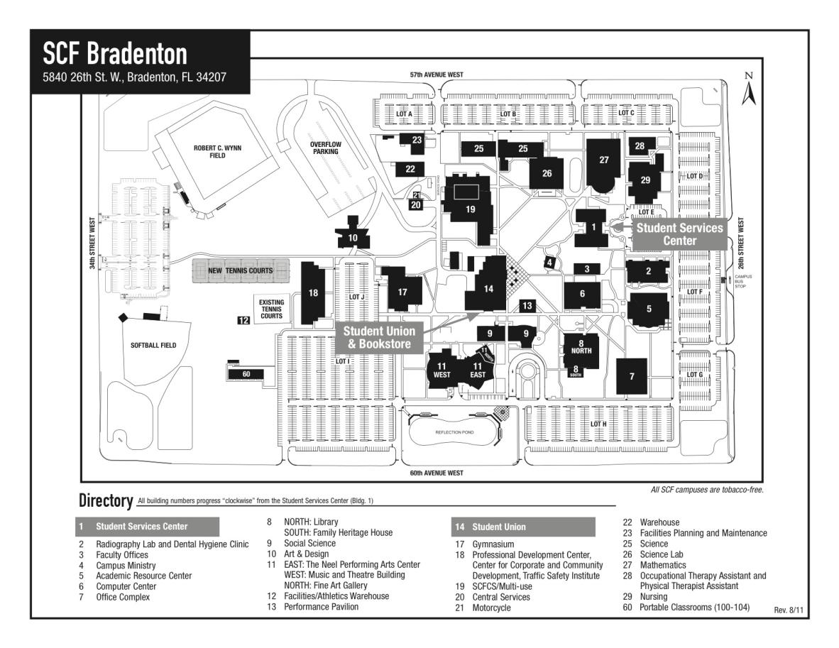 directions maps state college of florida manatee sarasota