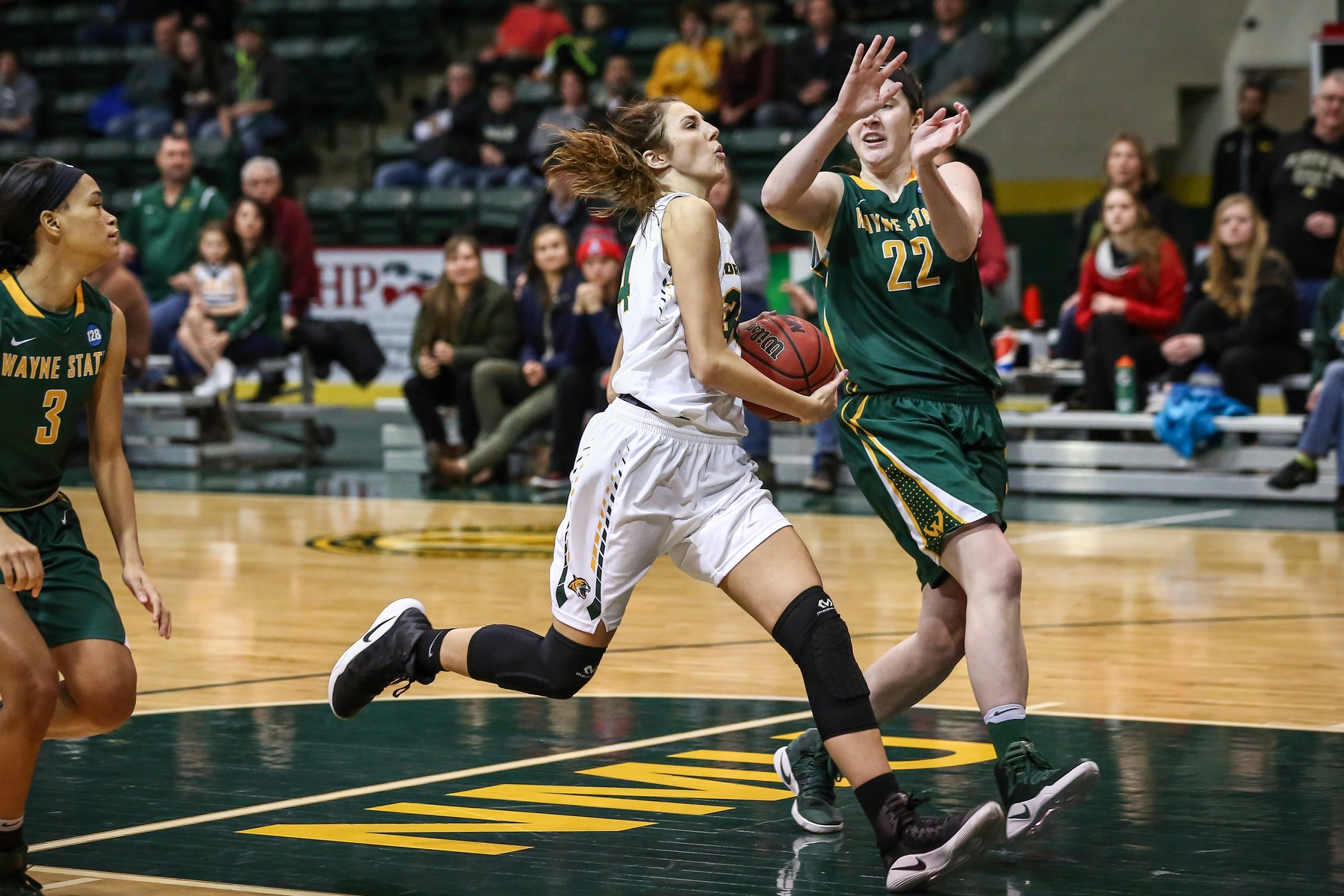 NMU Grabs 56-47 Victory at CSP