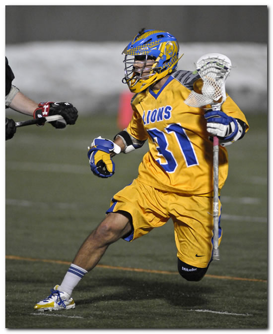 Lions' men's lacrosse team ends season with a 12-6 win at MSOE