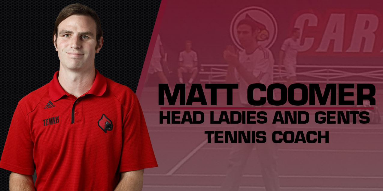 Matt Coomer Named Ladies and Gents Tennis Coach
