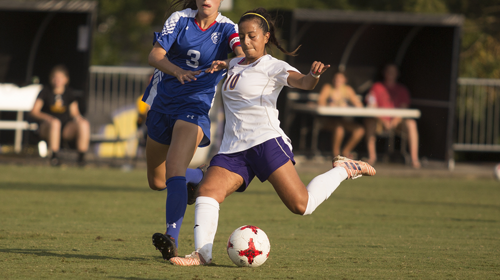 Golden Eagle offense comes alive, defense holds off late Belmont attack in 2-1 victory