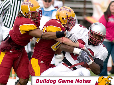 Football Game Notes: Hillsdale (Oct. 31)