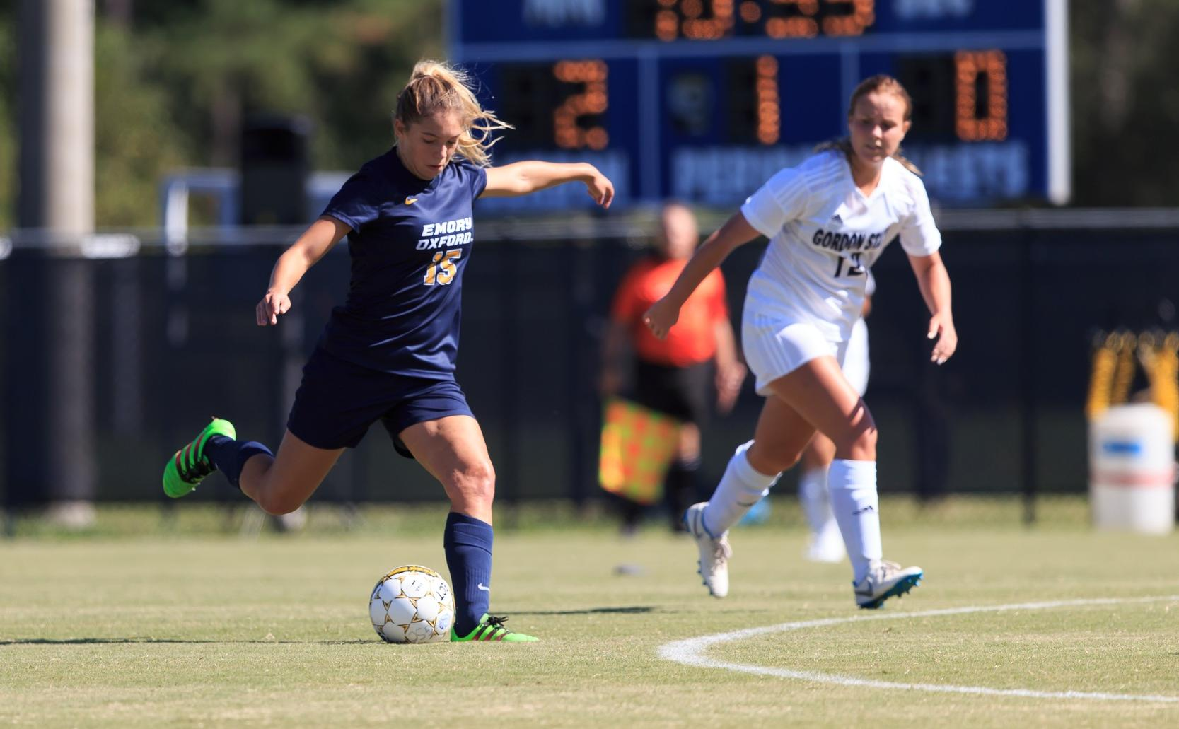 Women's Soccer Drops First Road Game