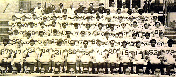 Montclair State's 1970 team