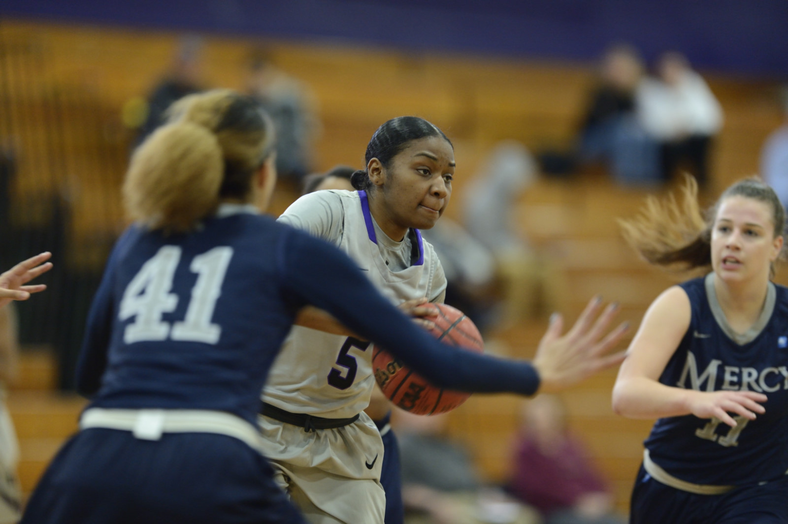 Women's Basketball Back In Win Column With Big ECC Victory Over Molloy, 71-65