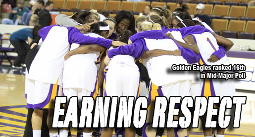 Golden Eagles women's basketball ranked 16th in Mid-Major Poll
