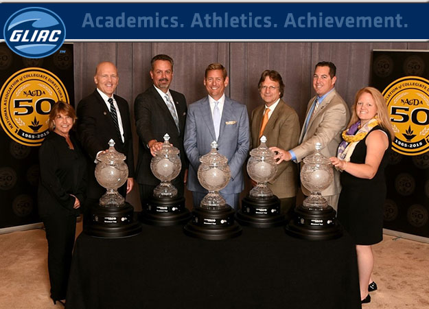 Grand Valley State Accepts 2014-15 NACDA Directors' Cup