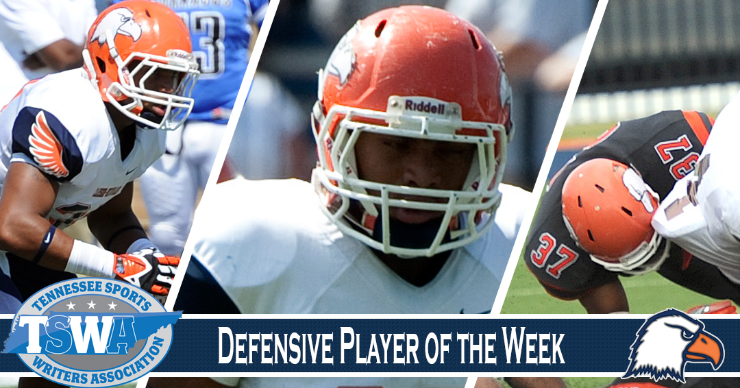 Stupart rumbles to TSWA defensive player of the week honors