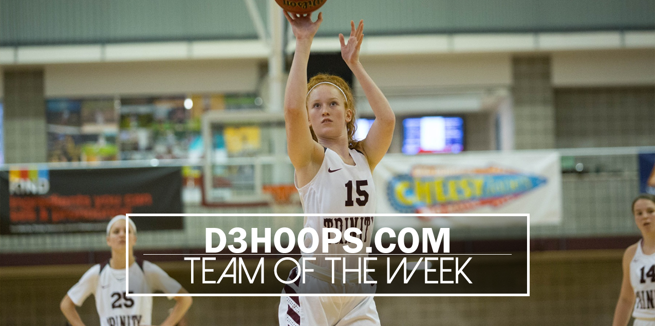 Trinity's Holland Named To National Team of the Week