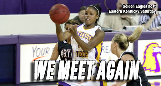 Golden Eagles host Eastern Kentucky Saturday