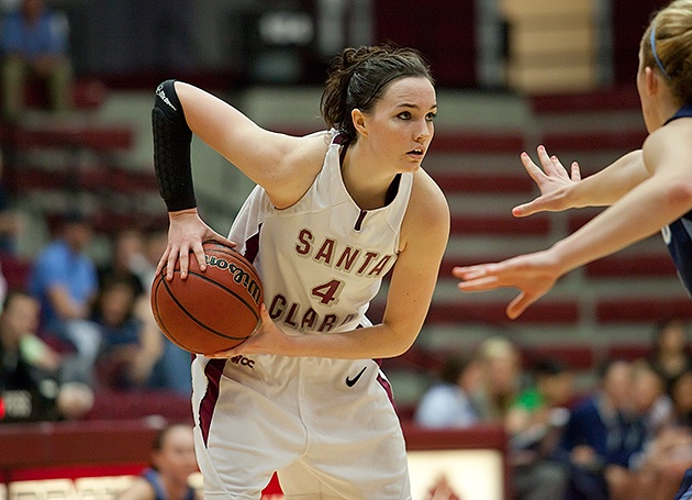 'Big Games' On Tap for Santa Clara Women's Basketball