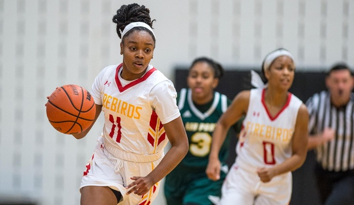 Sophomore Guard Maya Thomas Led The Firebirds In Scoring With A Career Best 20 Points And
