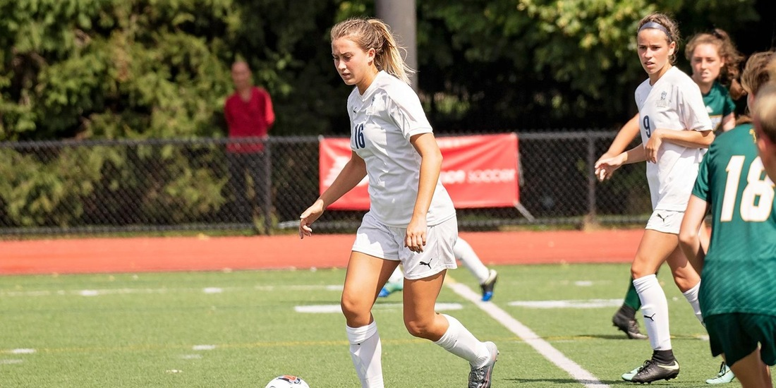 Women's Soccer's Season Ends in GNAC Quarterfinals to Lasell in Overtime, 3-2