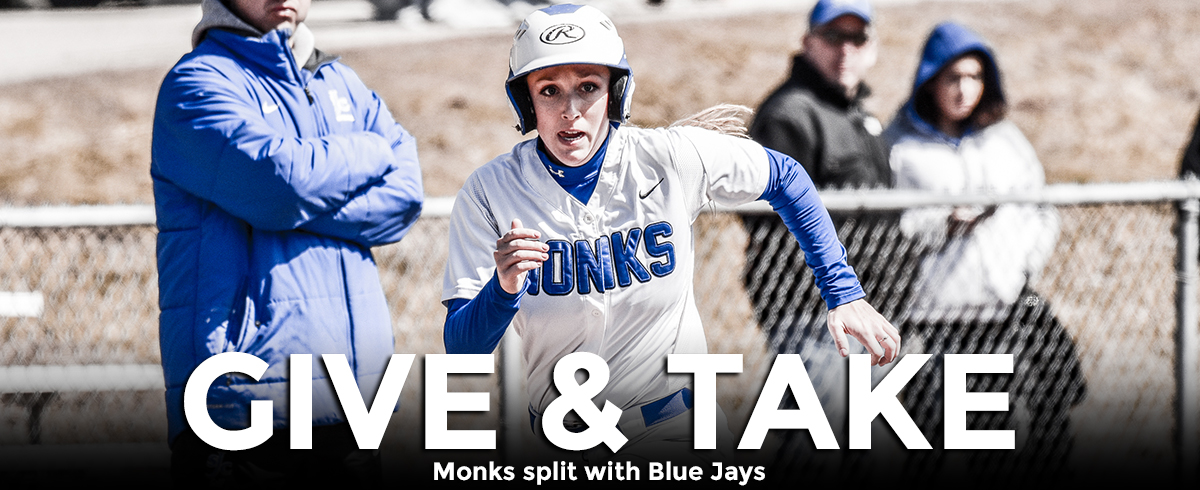 Monks and Blue Jays Split GNAC Doubleheader