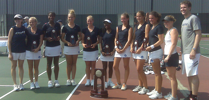 Emory Finishes Second at the NCAA Division III Women's Tennis Championships