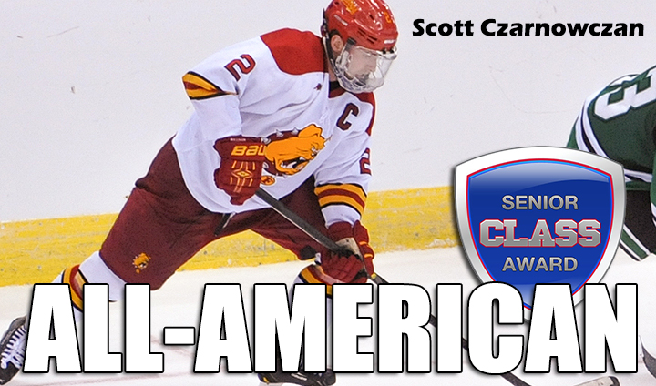 Ferris State's Scott Czarnowczan Claims Senior CLASS All-America Laurels