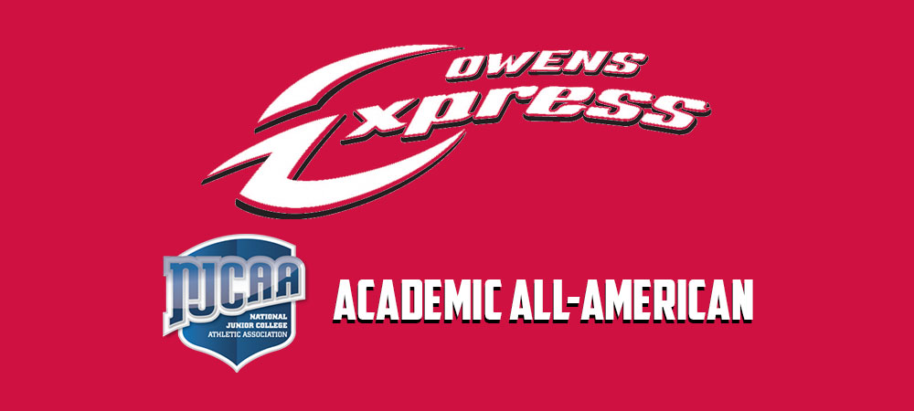 Owens Has Four Athletes Named to NJCAA Academic All-American Squads