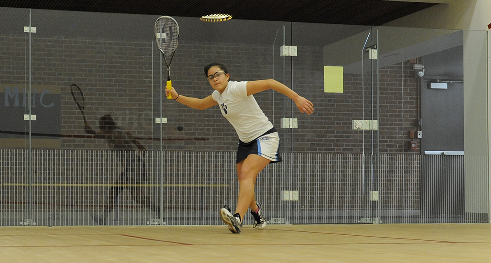 Squash Splits During Day 1 at Wesleyan Round Robin