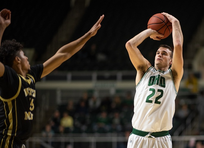 Block Leads Ohio Men's Basketball to Hard Fought 81-76 Victory Over Western Michigan