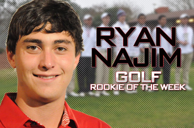 Golf: Najim selected as USA South Rookie of the Week