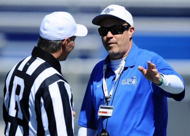 Coach Mac and the Blue Devils open the home season on Sept. 8