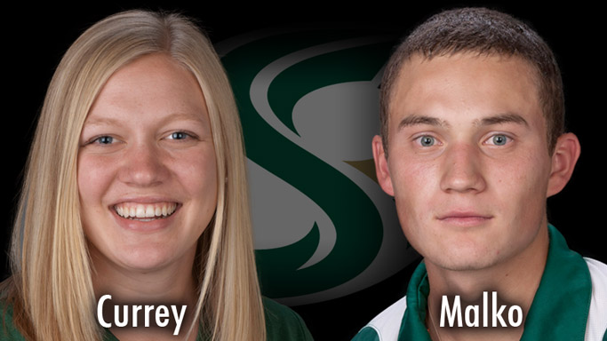 CURREY AND MALKO RECIPIENT OF BIG SKY'S SCHOLAR ATHLETE AWARD