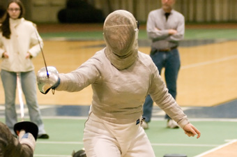 Women's fencing wins all six at Northeast Fencing Conference opener