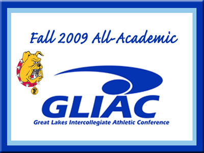 2009-10 GLIAC All-Academic Fall Sports Team Announced