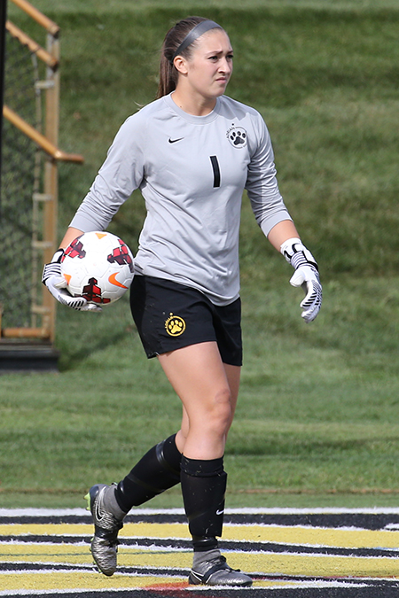 Ayverie Giller, Adrian, Women's Soccer Defensive Player of the Week 10/9/17