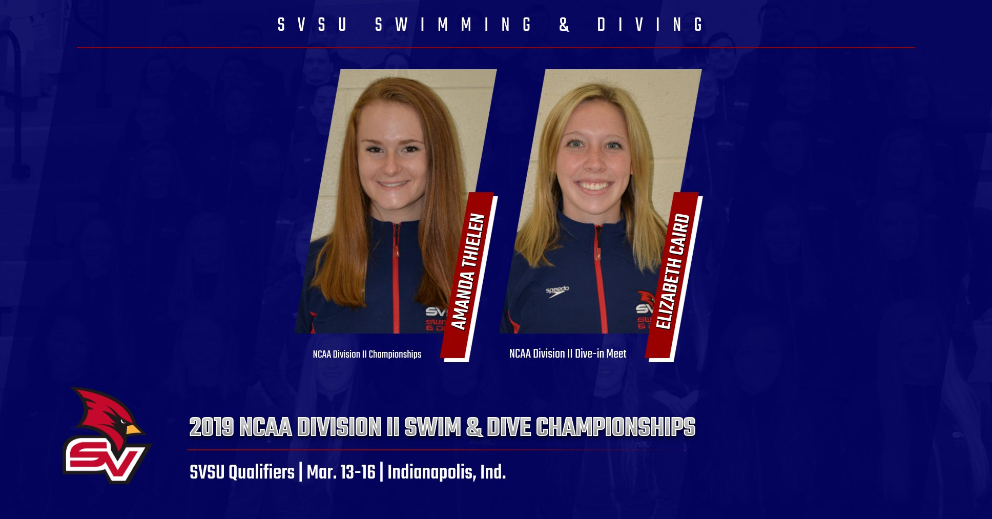 Pair of Cardinals advance to NCAA Division II National Championships