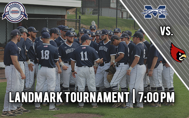 Moravian College baseball begins 2019 Landmark Conference on May 10.