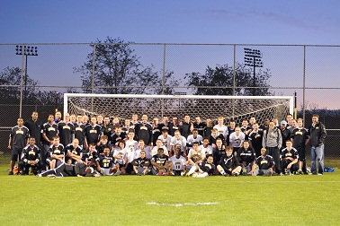 Men's Soccer Alumni Game Recap