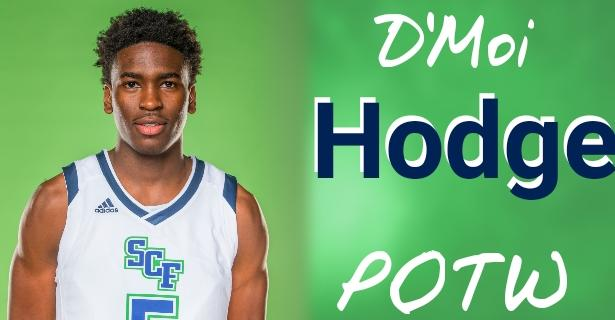 D'Moi Hodge Named FCSAA/NJCAA Region 8 Player of the Week