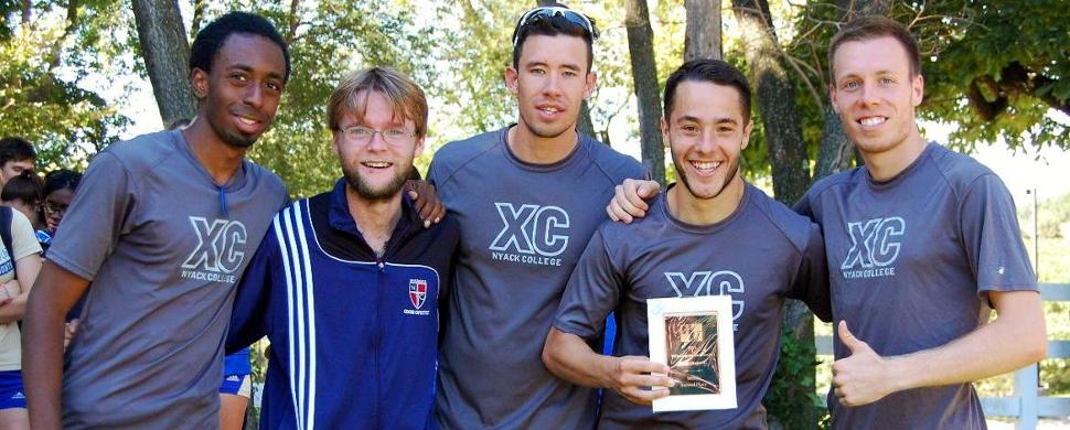 Men's Cross Country Improve To 2nd Place Team Finish