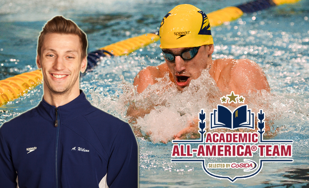 Andrew Wilson Honored as CoSIDA Academic All-American of the Year for Division III At-Large