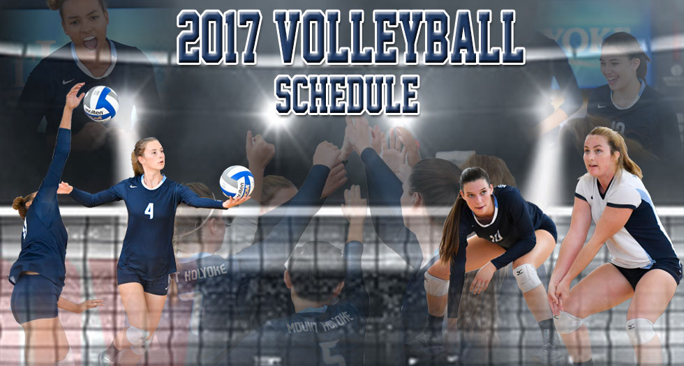 Volleyball Announces 2017 Schedule