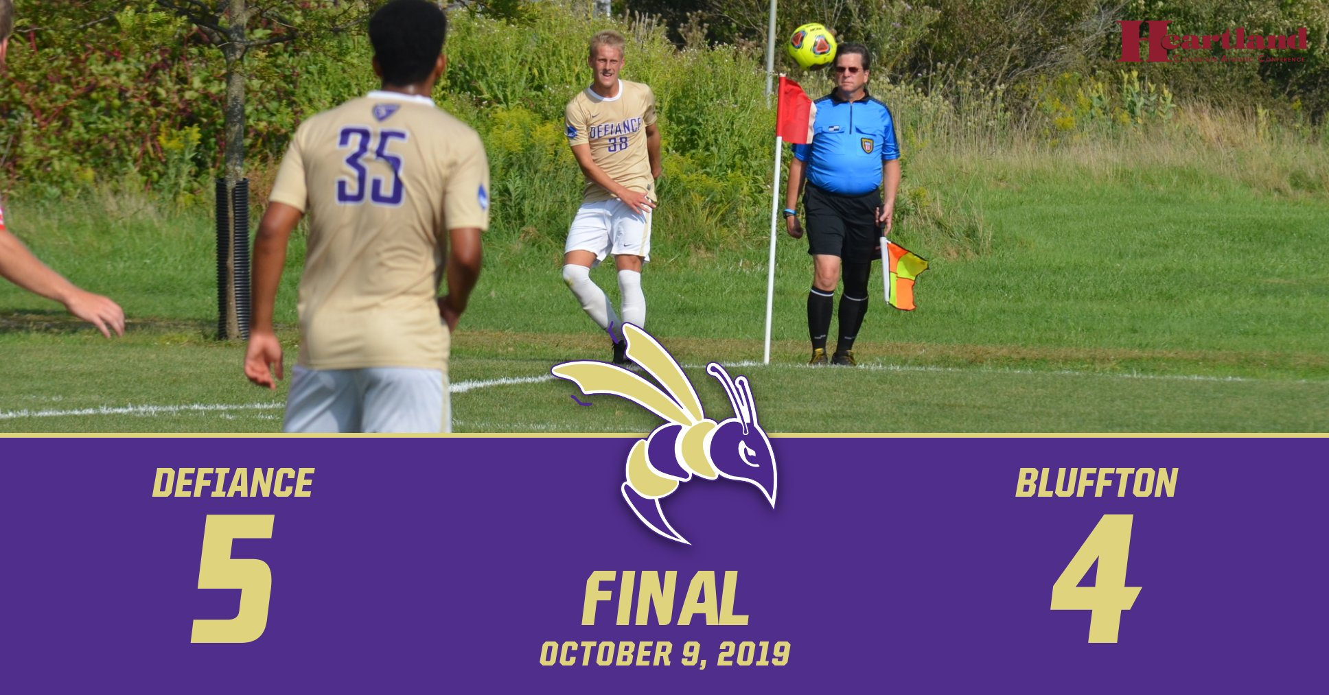 Men's Soccer Continues Winning Ways at Bluffton