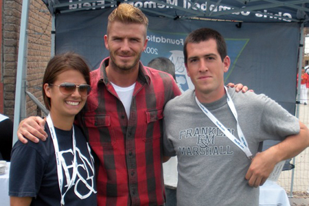 F&M Alums Bend it With Beckham