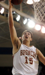 Denison's Strong Second Half Helps Broncos Hold Off Saint Mary's, 76-69
