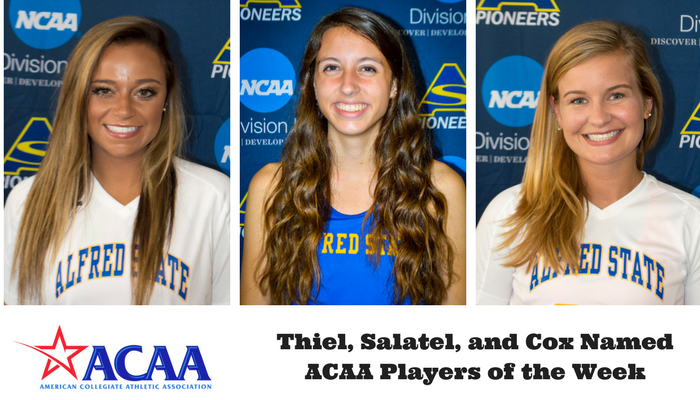 Salatel, Thiel, and Cox honored by the ACAA