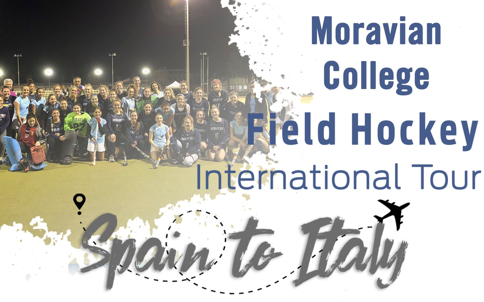 Field hockey team International tour to Spain and Italy in January 2019.