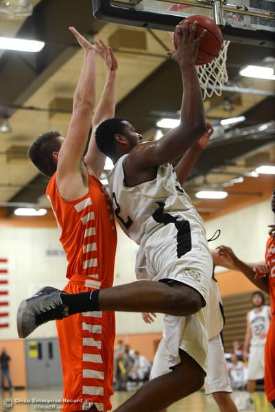 Butte College Men's Basketball beats Lassen with a jumper
